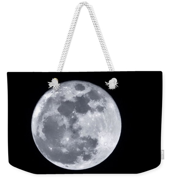 Super Moon Over Arizona  Weekender Tote Bag