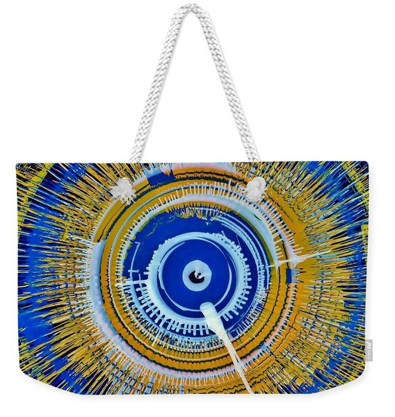 Super Nova Color Weekender Tote Bag
