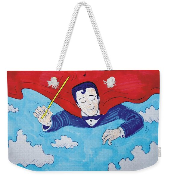 Superconductor Weekender Tote Bag