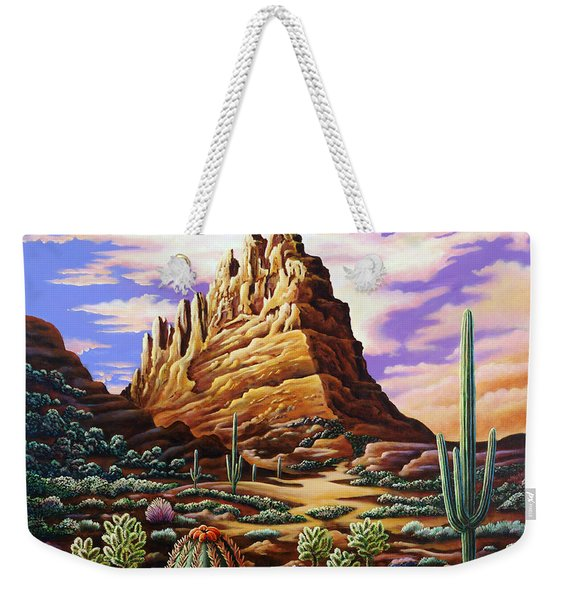 Superstition Mountains Weekender Tote Bag