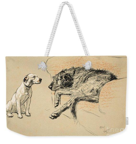 Supplication Weekender Tote Bag
