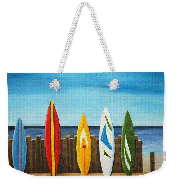 Surf On Weekender Tote Bag