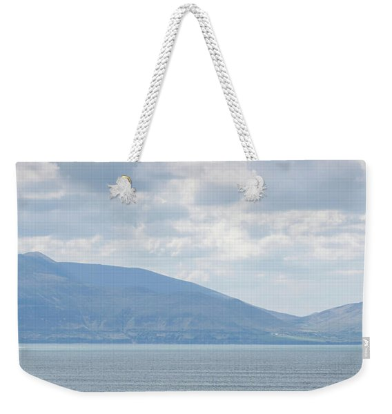 Surfer On The Beach, Inch Strand Weekender Tote Bag