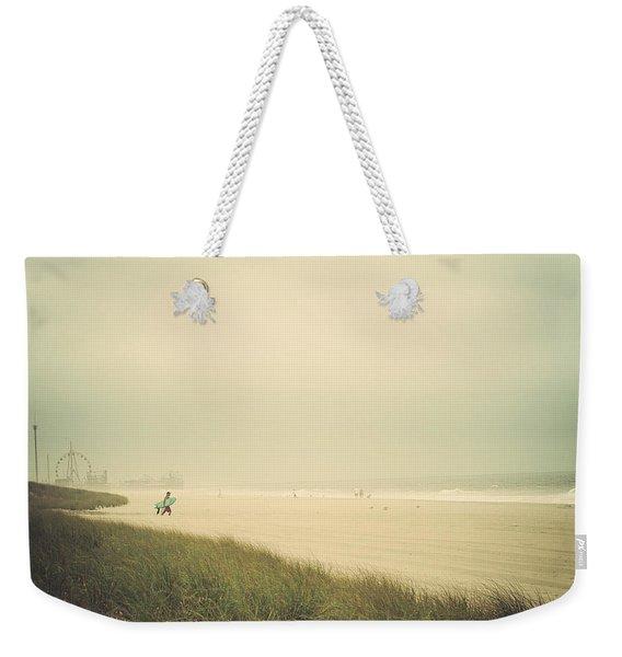 Surf's Up Seaside Park New Jersey Weekender Tote Bag