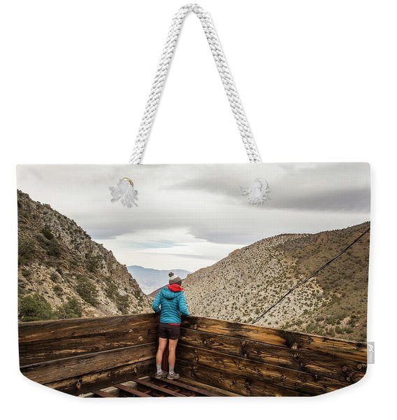 Surprise Canyon, Death Valley, Ca, Usa Weekender Tote Bag