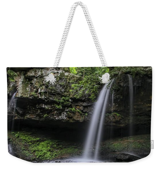 Suttons Gulch Waterfall Weekender Tote Bag