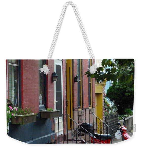 Swain Street Weekender Tote Bag