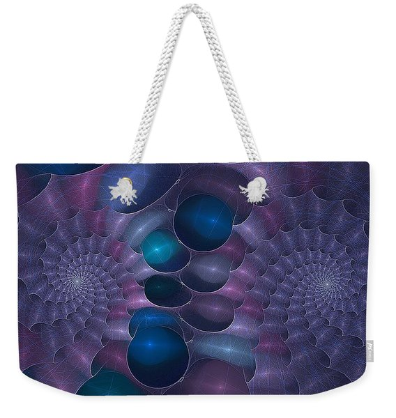 Swallow The Blue Pill Weekender Tote Bag