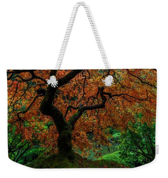 Swamped Japanese Weekender Tote Bag