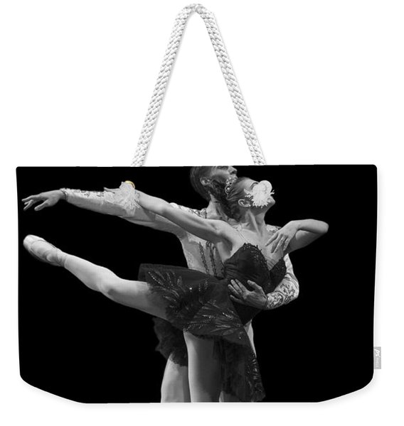 Swan Lake  Black Adagio  Russia  Weekender Tote Bag
