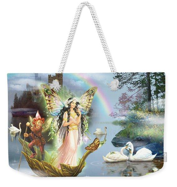 Swan Lake Fairy Weekender Tote Bag
