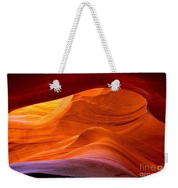 Sweeping Swirls Weekender Tote Bag