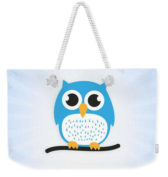 Sweet And Cute Owl Weekender Tote Bag