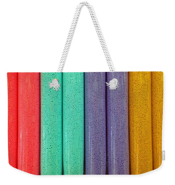 Sweet Colors Weekender Tote Bag