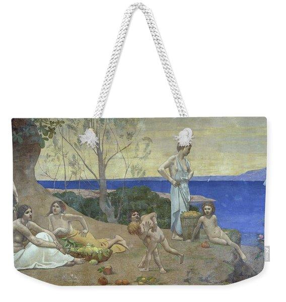 Sweet Country, 1882 Oil On Canvas Weekender Tote Bag