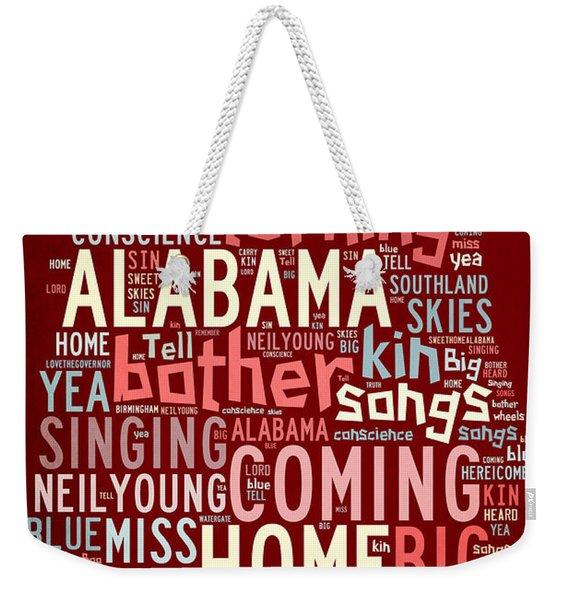 Sweet Home Alabama 4 Weekender Tote Bag