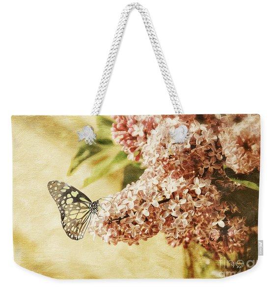 Sweet Lilacs Weekender Tote Bag