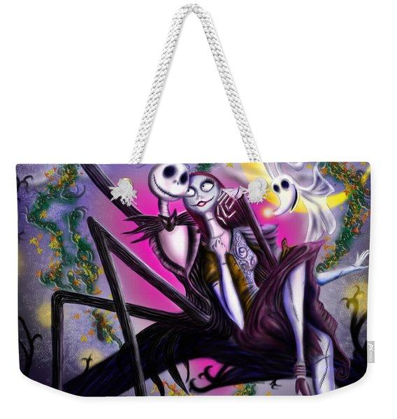 Sweet Loving Dreams In Halloween Night Weekender Tote Bag