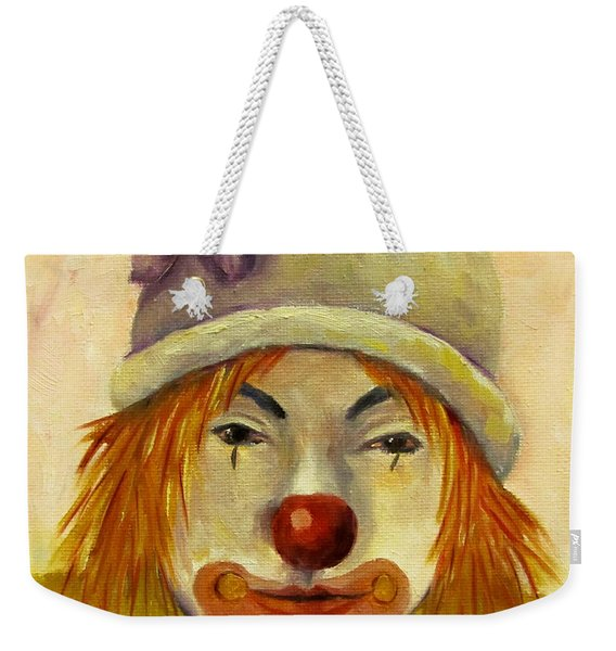 Sweet Potato The Party Clown Weekender Tote Bag