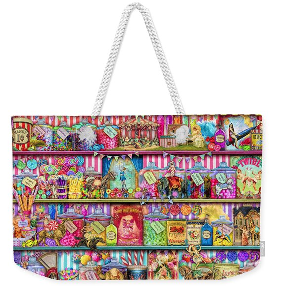 Sweet Shoppe Weekender Tote Bag