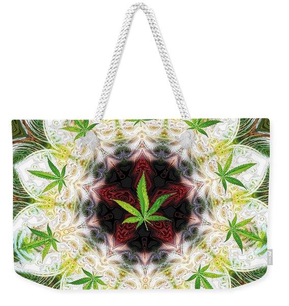 Sweetleaf Mandala Weekender Tote Bag