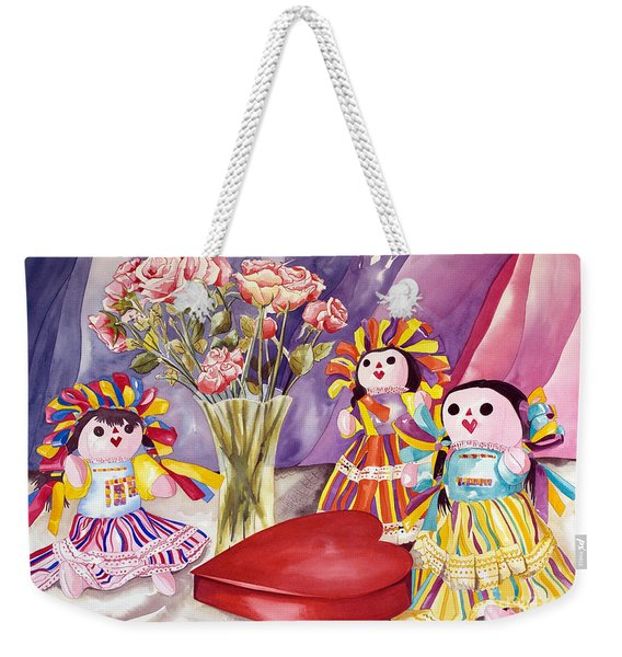 Sweets For The Sweet Weekender Tote Bag