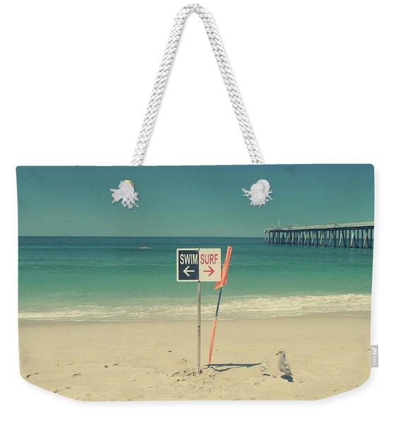 Swim And Surf Weekender Tote Bag