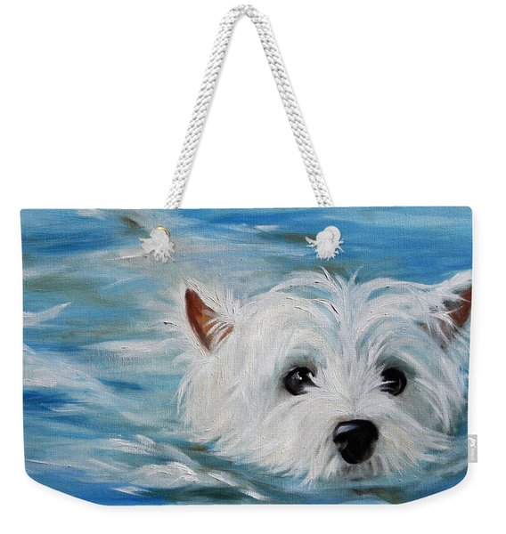 Swimmer Weekender Tote Bag