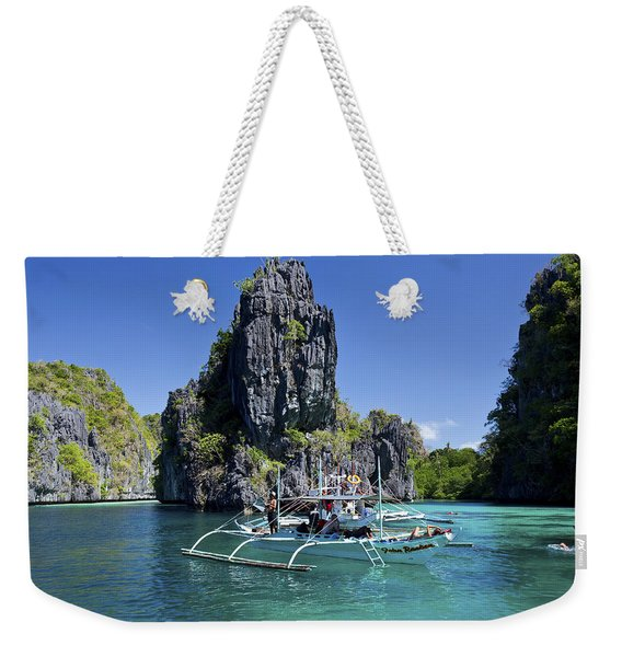 Swimming At Big Lagoon Weekender Tote Bag