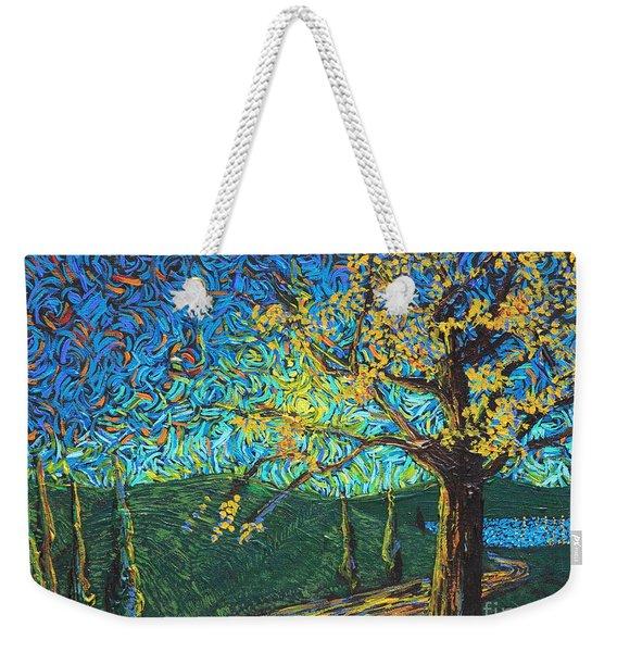 Swing By The Road Weekender Tote Bag