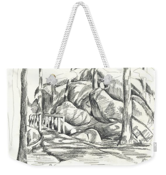 Swirling Cast Shadows At Elephant Rocks  No Ctc101 Weekender Tote Bag
