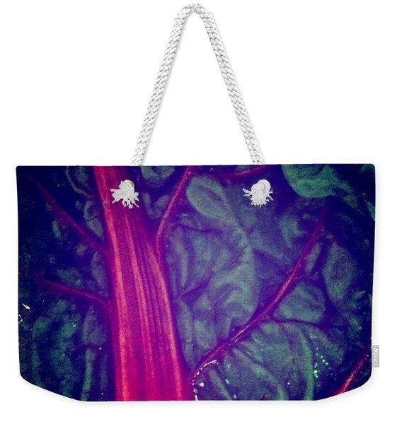 Swiss Chard Weekender Tote Bag