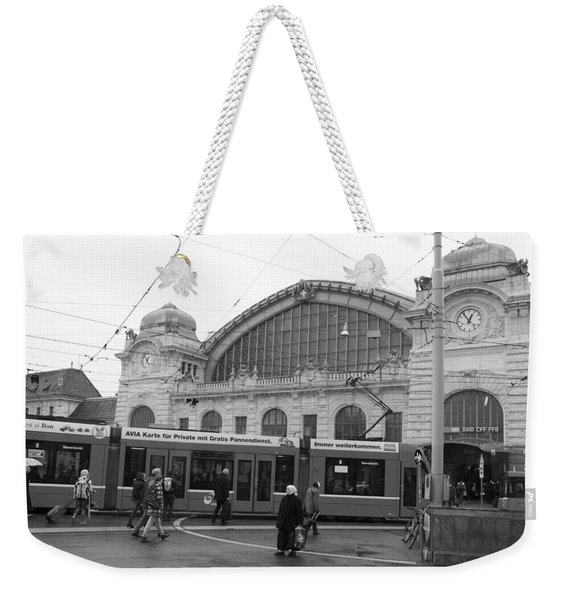 Swiss Railway Station Weekender Tote Bag
