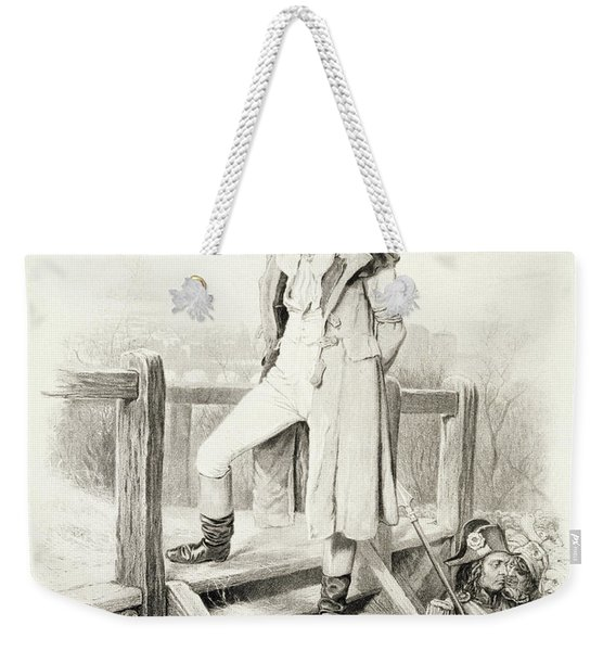 Sydney Carton, From Charles Dickens A Weekender Tote Bag