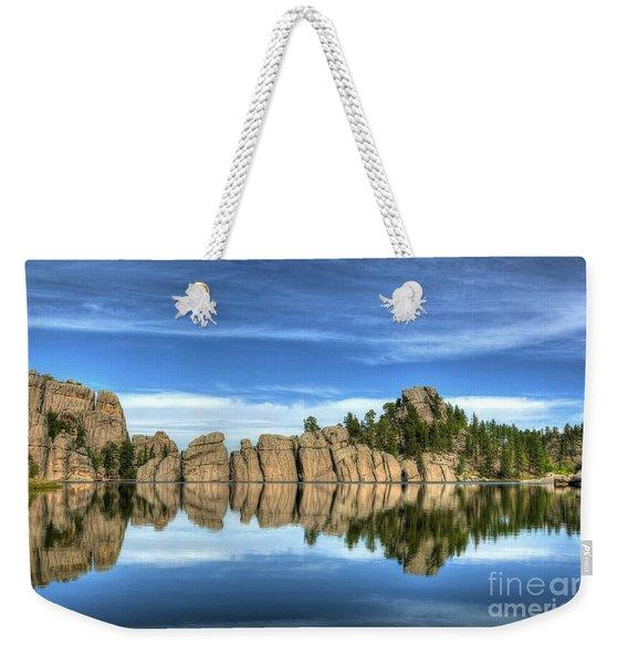 Sylvan Lake Reflections Weekender Tote Bag
