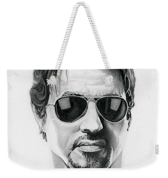 Sylvester Stallone - The Expendables Weekender Tote Bag