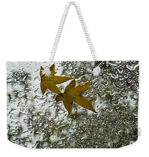 Symbols Of Autumn  Weekender Tote Bag
