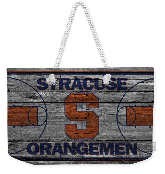 Syracuse Orangemen Weekender Tote Bag