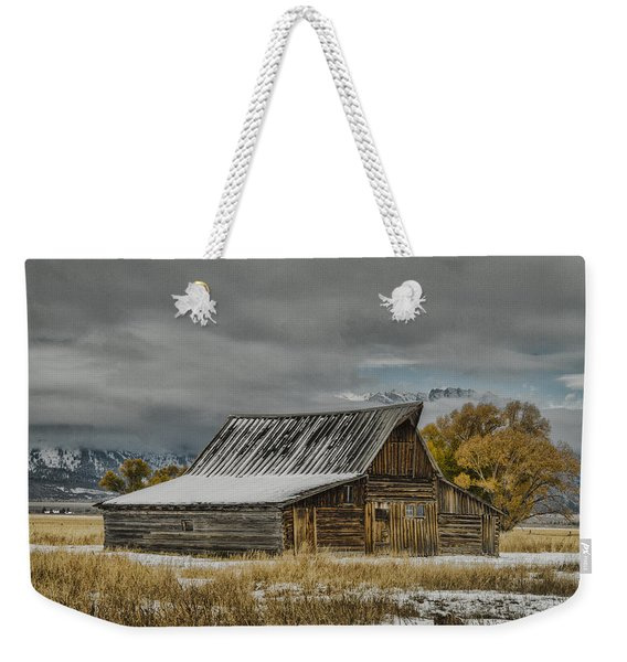 T. A. Moulton's Barn Weekender Tote Bag
