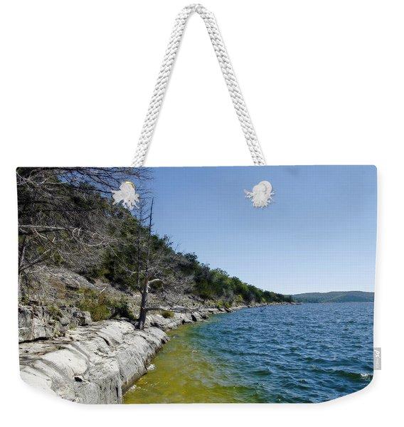 Table Rock Lake Shoreline Weekender Tote Bag
