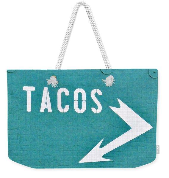 Tacos Weekender Tote Bag