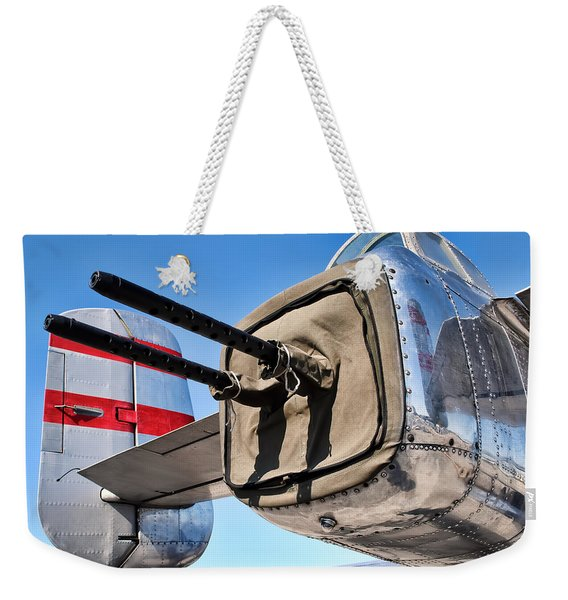 Tail Gunner Weekender Tote Bag