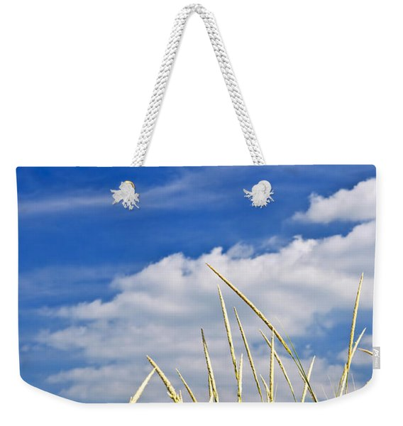 Tall Grass On Sand Dunes Weekender Tote Bag