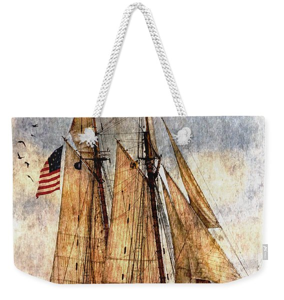 Tall Ships Art Weekender Tote Bag