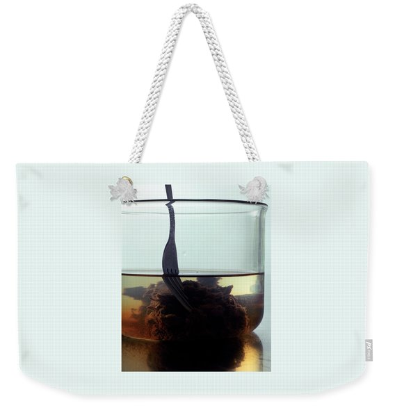 Tamarind Powder Floating In Water Weekender Tote Bag