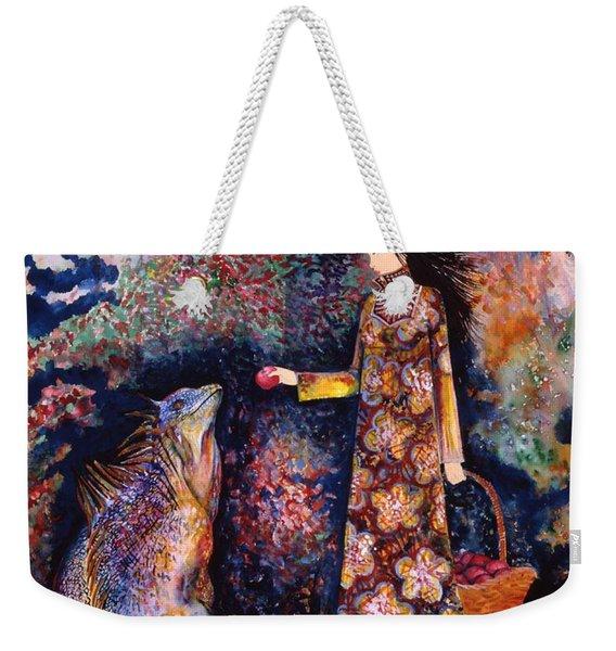 Taming Of The Dragon Weekender Tote Bag
