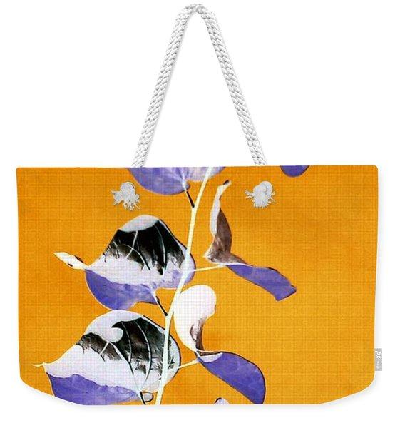 Tangerine Sky Weekender Tote Bag