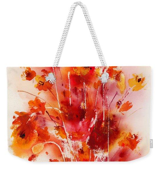 Tangerine Tango Weekender Tote Bag