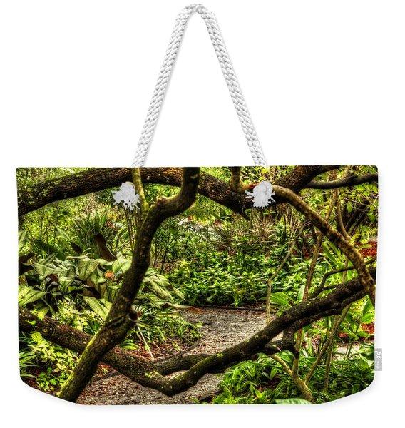 Tangled Path Weekender Tote Bag