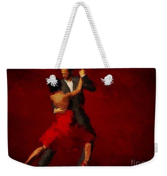 Tango Weekender Tote Bag